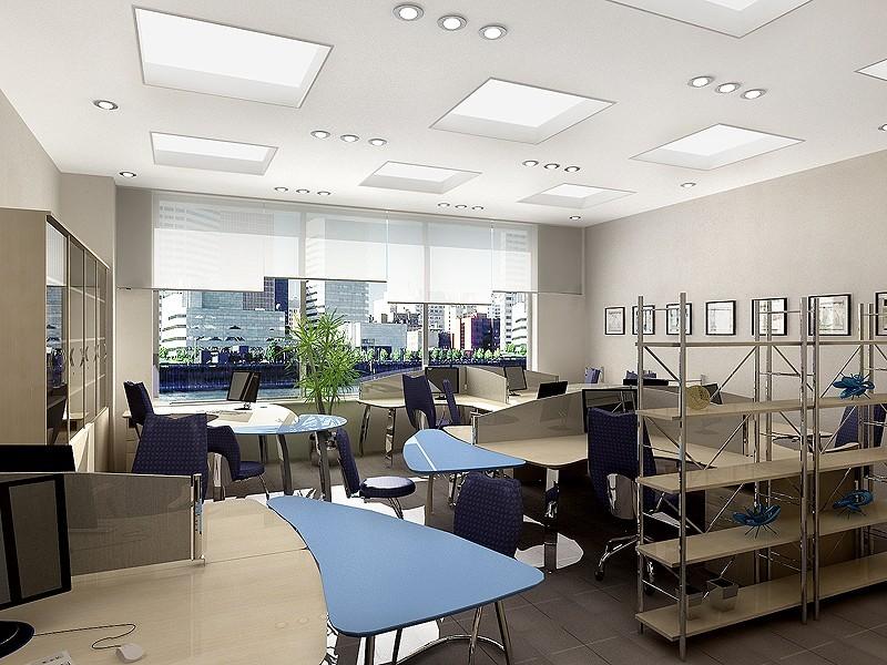 Thiết kế nội thất phòng nhân viên theo hướng mở sẽ giúp họ làm việc với hiệu suất cao, sáng tạo hơn, thúc đẩy họ giao tiếp