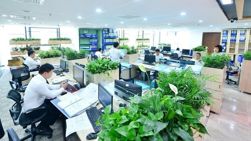 Các không gian nội thất mở rất phù hợp với những lĩnh vực hoạt động cần sự năng động, sáng tạo