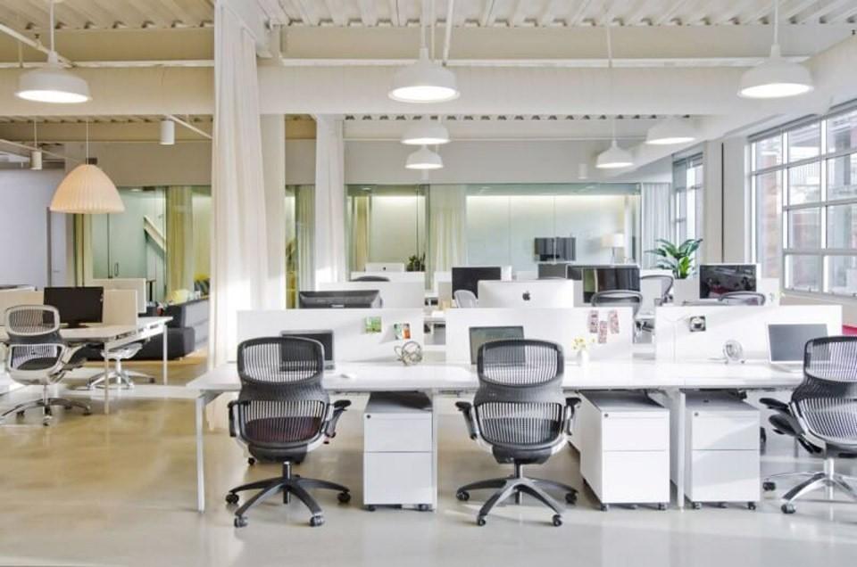 Hình dạng văn phòng vuông vức, không có góc khuyết là hình dạng tốt nhất để chọn làm văn phòng cho công ty