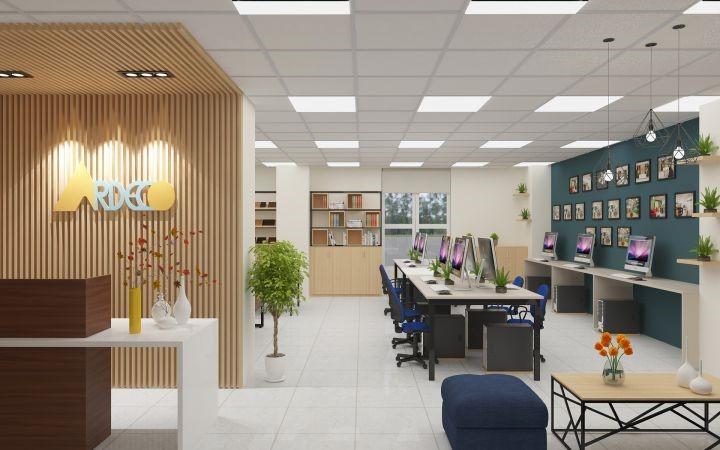 Khi bố trí văn phòng làm việc bạn cần ưu tiên các vị trí cho giám đốc – quản lý – nhân viên