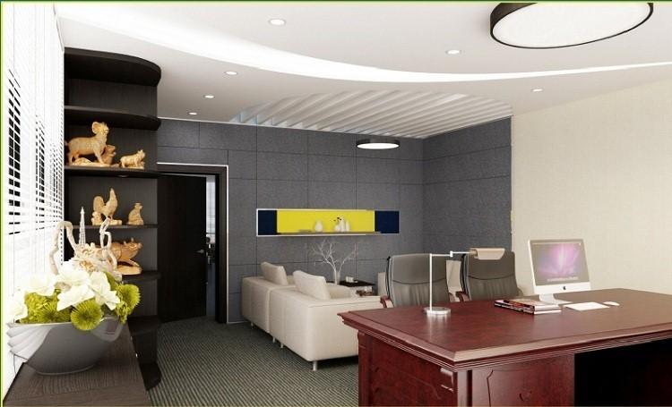 Khi thiết kế phòng làm việc của giám đốc nữ bạn cần phải thiết kế thật tỉ mỉ để tôn lên được nét đẹp, cá tính của chủ sở hữu
