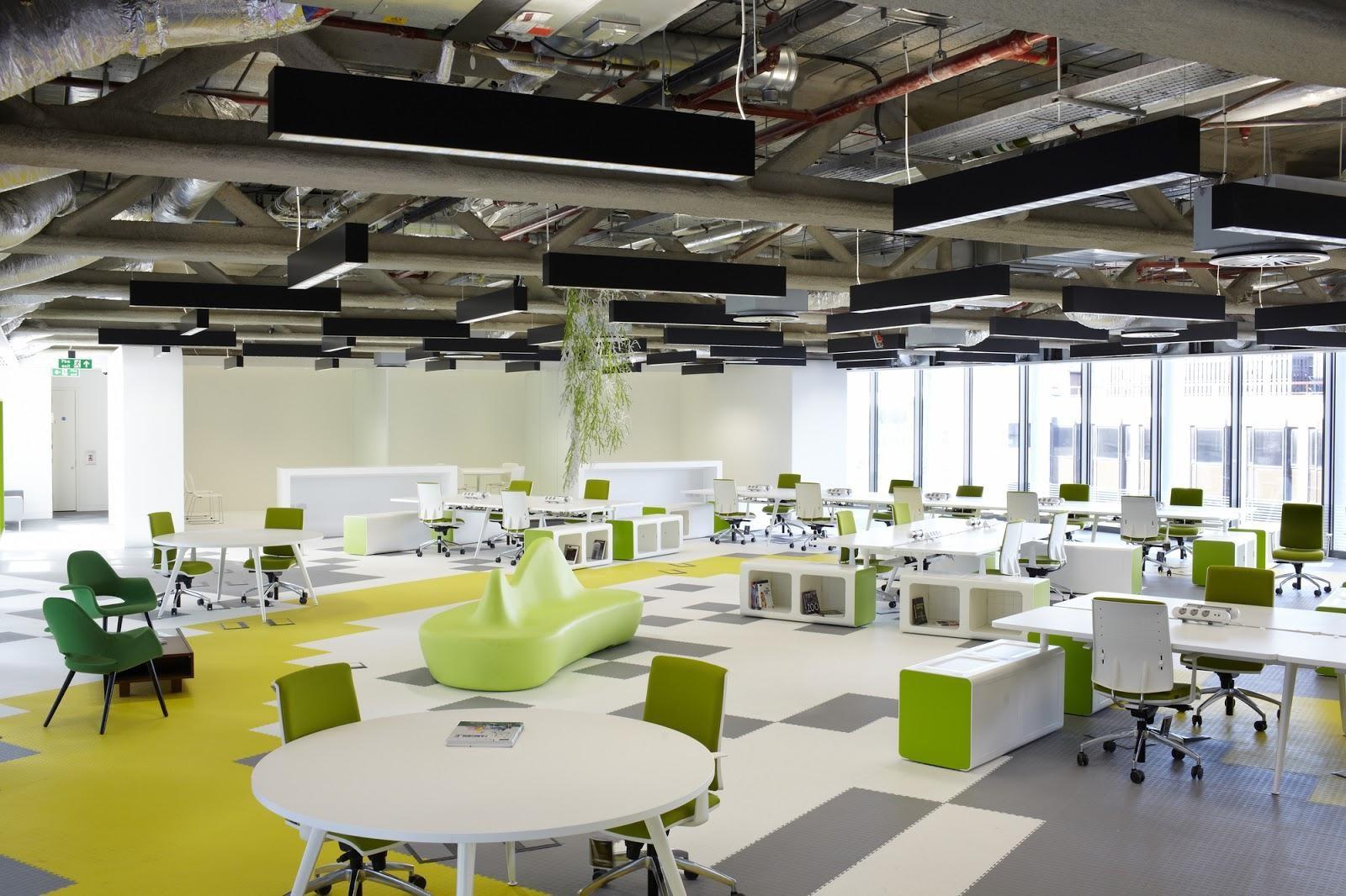 Một văn phòng lớn cần phải gây được ấn tượng với đối tác cũng như khách hàng