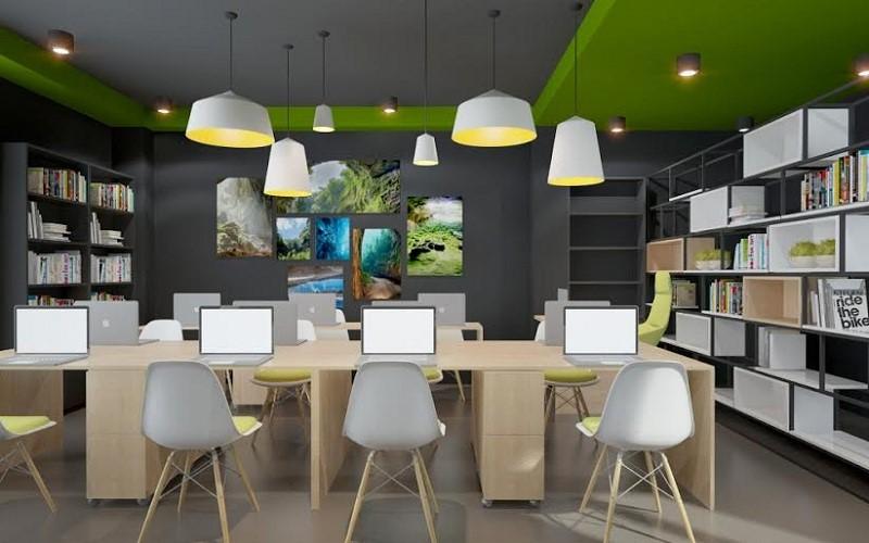 Cần được cung cấp đầy đủ ánh sáng cho mọi vị trí làm việc của nhân viên