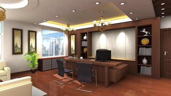 Ưu tiên không gian xanh và đảm bảo đủ ánh sáng khi thiết kế phòng làm việc giám đốc